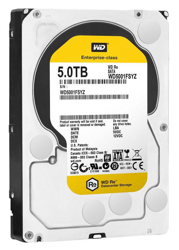 Жесткий диск WD RE WD5001FSYZ,  5Тб,  HDD,  SATA III,  3.5