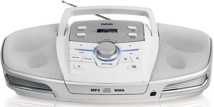 Аудиомагнитола BBK BX900BT,  белый металлик