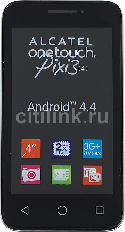 Смартфон ALCATEL Pixi 3(4) 4013D  серебристый