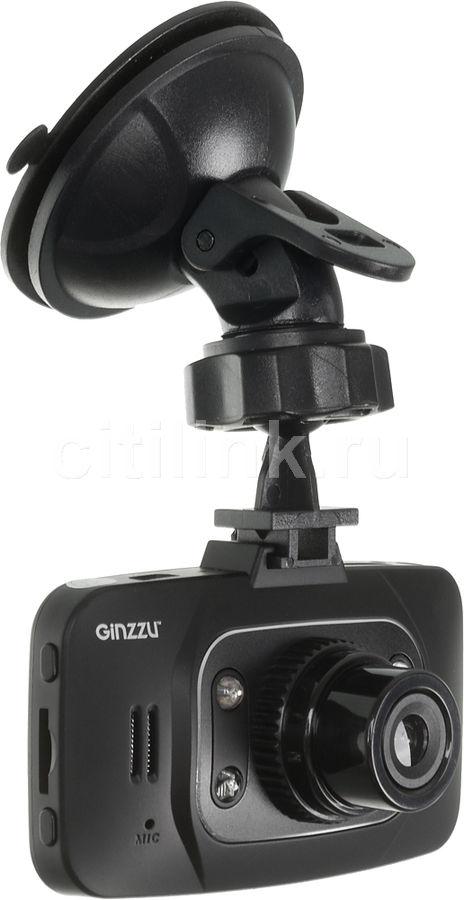Видеорегистратор GINZZU FX-803HD черный