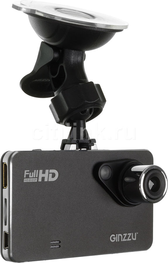 Видеорегистратор GINZZU FX-900HD черный