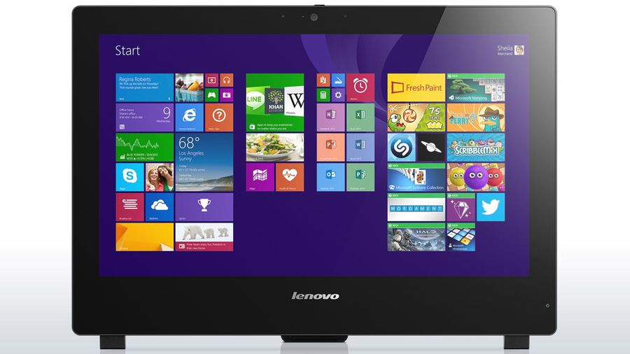 Моноблок LENOVO S50 30, Intel Core i5 5200U, 4Гб, 500Гб, nVIDIA GeForce 820A - 2048 Мб, DVD-RW, Windows 8.1, черный [f0ba003xrk]