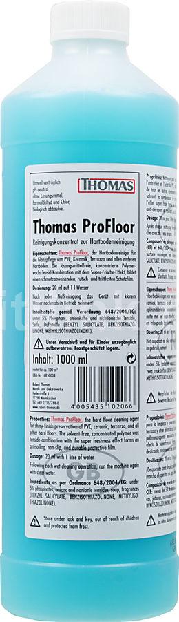 Концентрат THOMAS PROFLOOR,  1 шт., для всех моющих пылесосов Thomas.