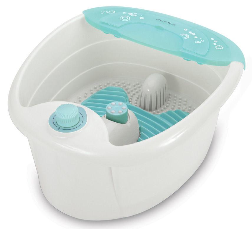 Гидромассажная ванночка для ног SUPRA FMS-102,  белый,  зеленый