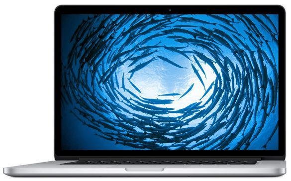 "Ноутбук APPLE MacBook Pro MJLQ2RU/A, 15.4"", Intel  Core i7  4770HQ 2.2ГГц, 16Гб, 256Гб SSD,  Intel Iris Pro graphics , Mac OS X, MJLQ2RU/A,  серебристый"