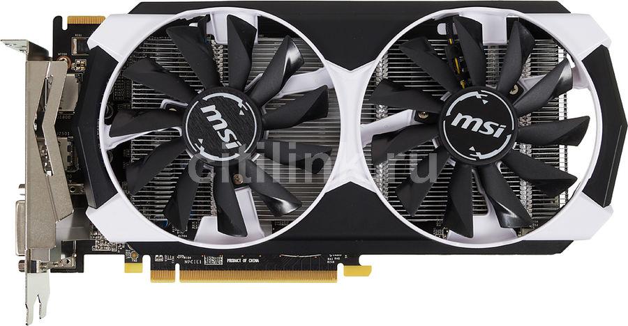 Видеокарта MSI Radeon R7 370,  R7 370 2GD5T OC,  2Гб, GDDR5, OC,  Ret