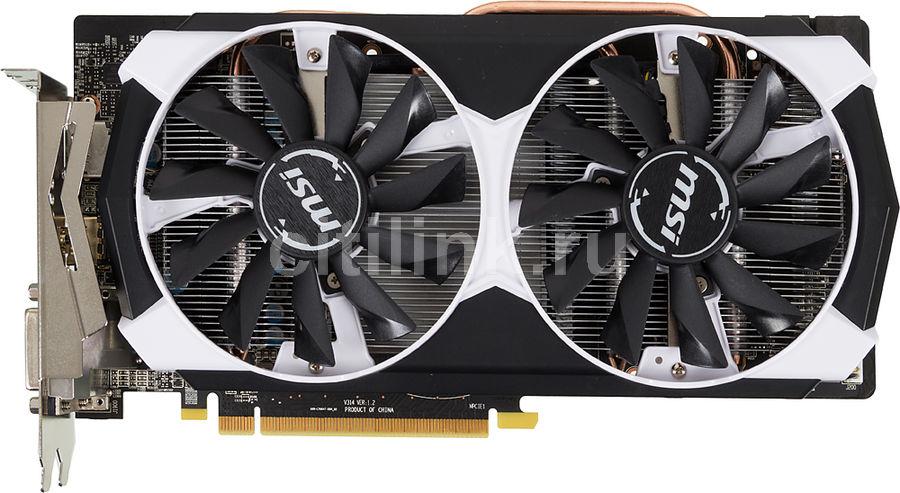 Видеокарта MSI Radeon R9 380,  R9 380 2GD5T OC,  2Гб, GDDR5, OC,  Ret