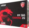 Видеокарта MSI Radeon R9 380,  R9 380 GAMING 2G,  2Гб, GDDR5, Ret вид 7