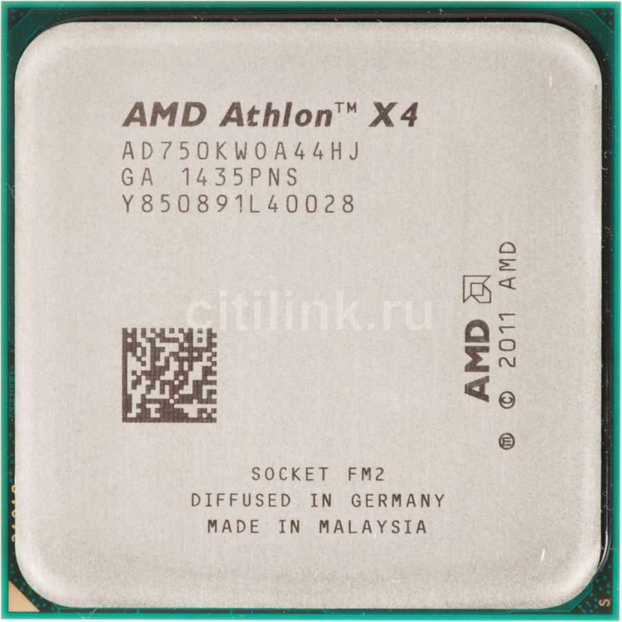 Процессор AMD Athlon X4 750K, SocketFM2 OEM [ad750kw0a44hj]