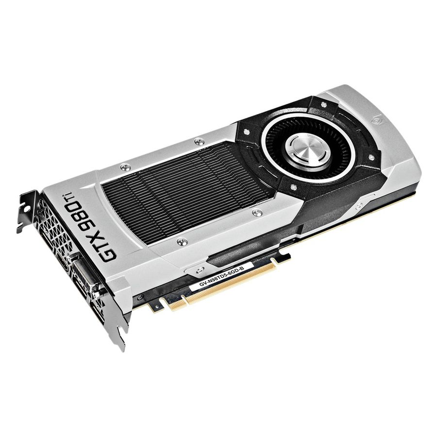Видеокарта GIGABYTE GeForce GTX 980TI,  GV-N98TD5-6GD-B,  6Гб, GDDR5, Ret