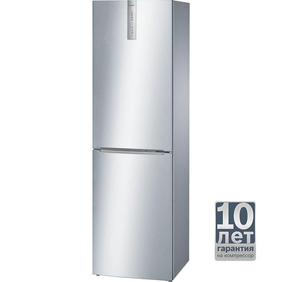 Холодильник BOSCH KGN39XL24R,  двухкамерный,  нержавеющая сталь