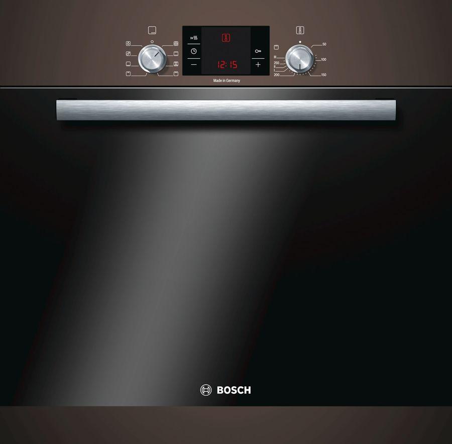 Духовой шкаф BOSCH HBA23S140R,  коричневый