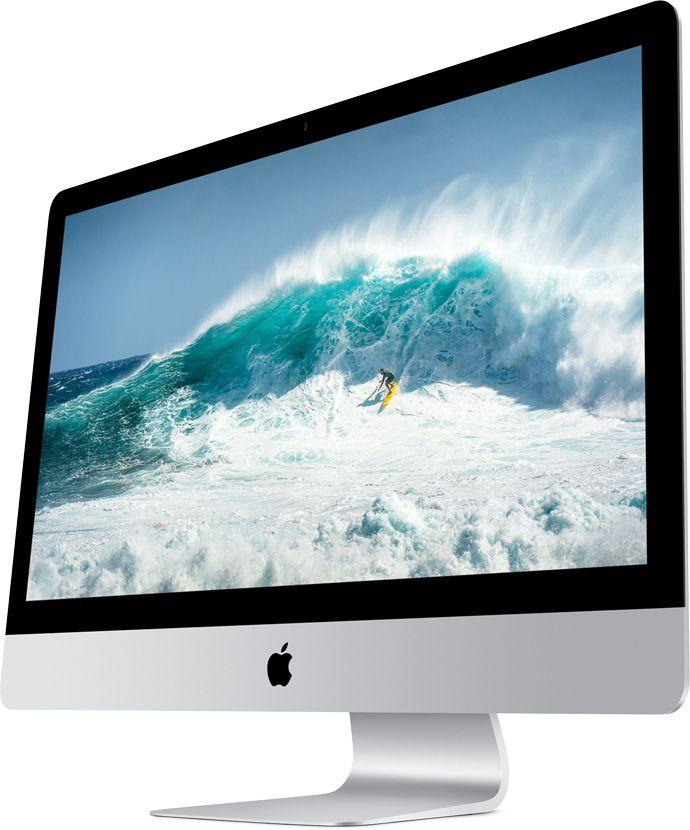 Моноблок APPLE iMac MF885RU/A, Intel Core i5 4590, 8Гб, 1000Гб, AMD Radeon R9 M290X - 2048 Мб, Mac OS X, серебристый и черный