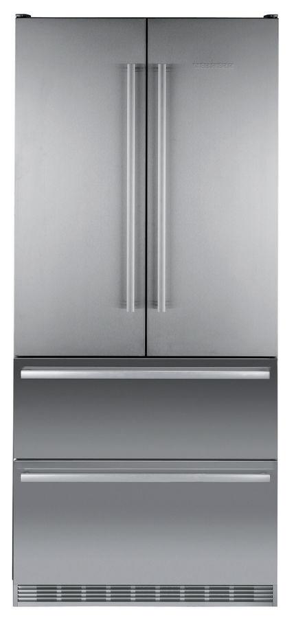 Холодильник LIEBHERR CBNes 6256,  трехкамерный, серебристый