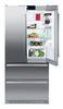 Холодильник LIEBHERR CBNes 6256,  трехкамерный, серебристый вид 5