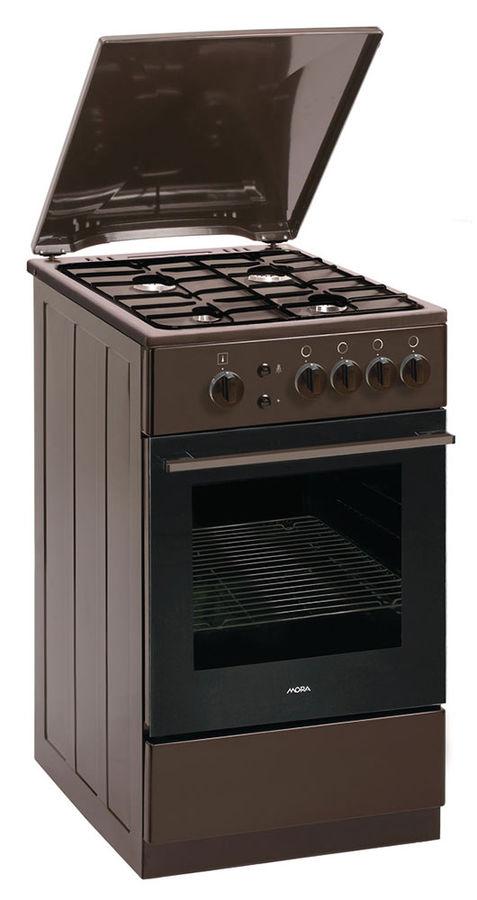 Газовая плита MORA PS213MBR,  газовая духовка,  коричневый