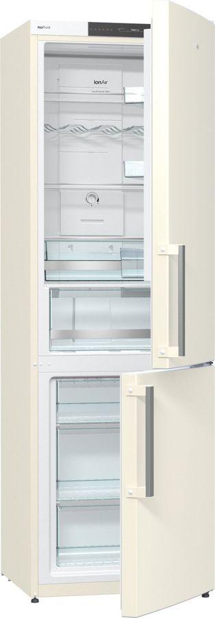 Холодильник GORENJE NRK6191JC,  двухкамерный,  бежевый