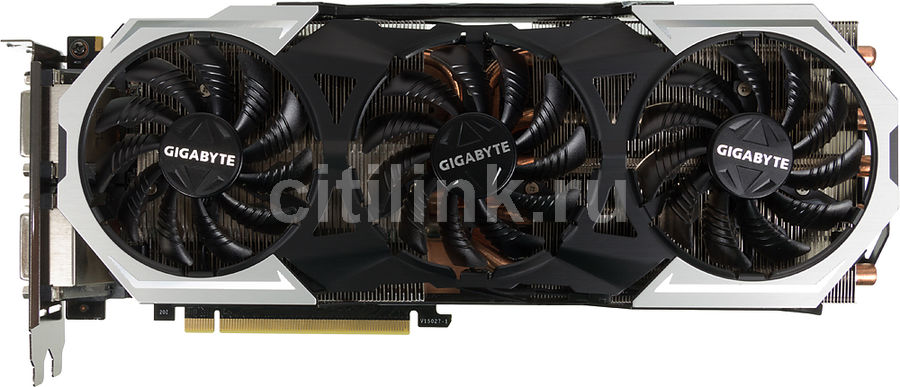 Видеокарта Gigabyte PCI-E GV-N98TG1 GAMING-6GD NV GTX980TI 6144Mb 384b GDDR5 1152/ (отремонтированный)