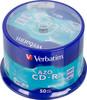 Оптический диск CD-R VERBATIM 700Мб 48x, 50шт., cake box [43343] вид 1