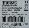 Пылесос THOMAS Aqua-Box Perfect Air Allergy Pure, 1700Вт, белый/синий вид 12