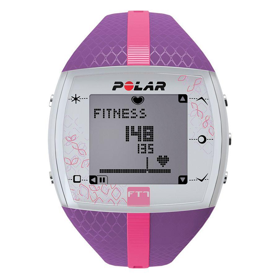 Часы-пульсометр Polar FT7F фиолетовый/розовый [90053993]