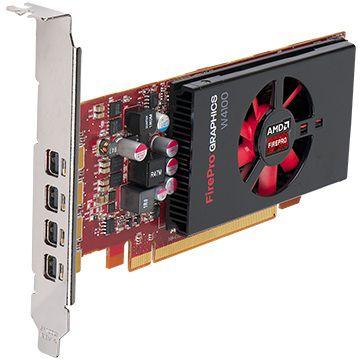 Видеокарта DELL FirePro W4100,  490-BCHO,  2Гб, GDDR5, Low Profile,  Ret