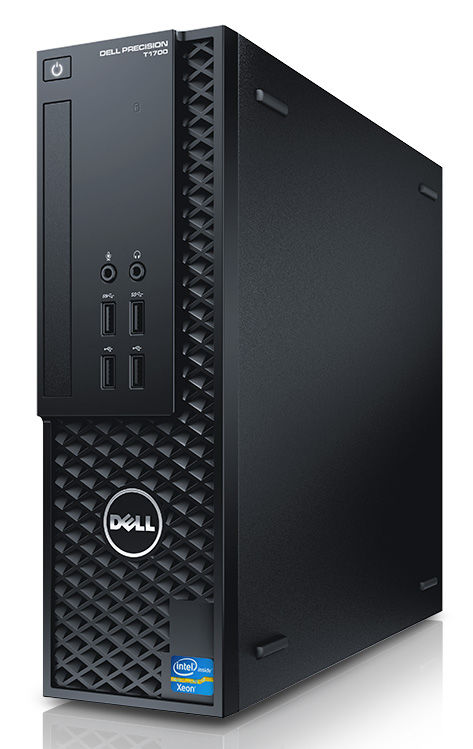 Рабочая станция  DELL Precision T1700,  Intel  Xeon  E3-1220 v3,  DDR3 16Гб, 1000Гб,  AMD FirePro W4100 - 2048 Мб,  DVD-RW,  Windows 7 Professional,  черный [1700-7362]