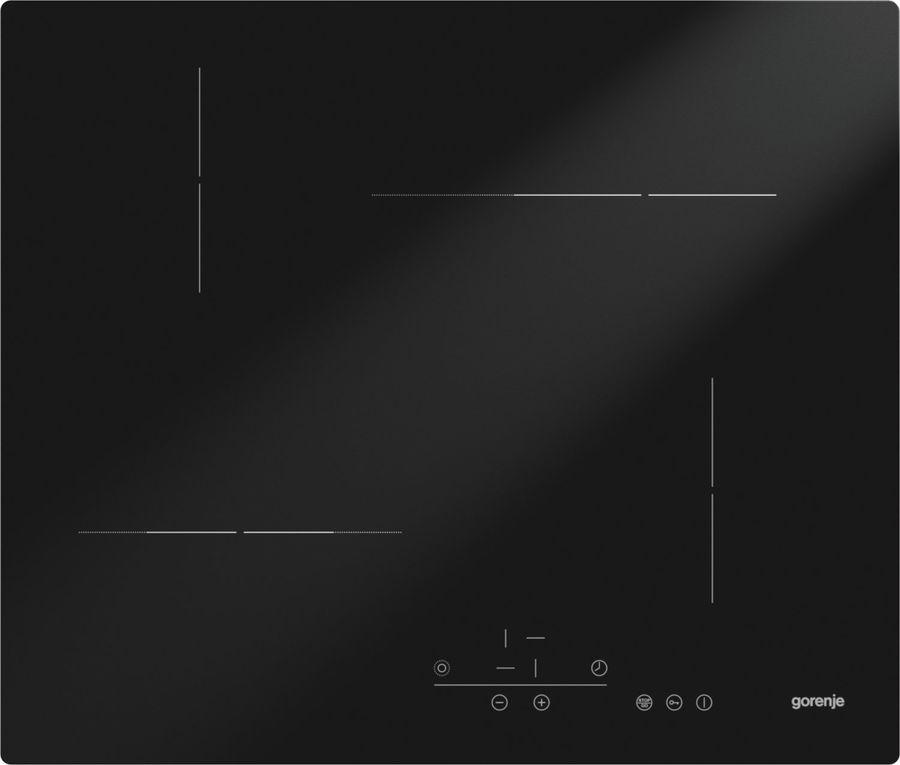 Варочная панель GORENJE ECT62B,  Hi-Light,  независимая,  черный