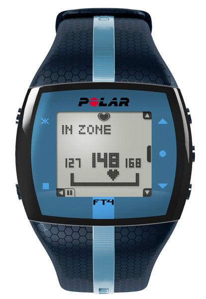 Часы-пульсометр Polar FT7M синий/серебристый [90054893]