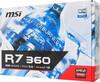 Видеокарта MSI Radeon R7 360,  R7 360 2GD5 OC,  2Гб, GDDR5, OC,  Ret вид 7