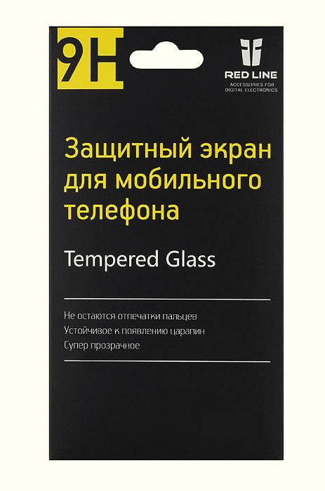 Защитное стекло REDLINE для Lumia 640XL,  1 шт [ут000006741]