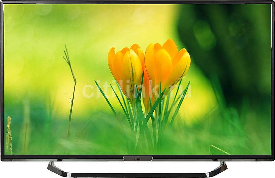 "LED телевизор JVC LT50M645  ""R"", 50"", FULL HD (1080p),  черный"