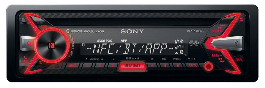 Автомагнитола SONY MEX-N4100BE,  USB
