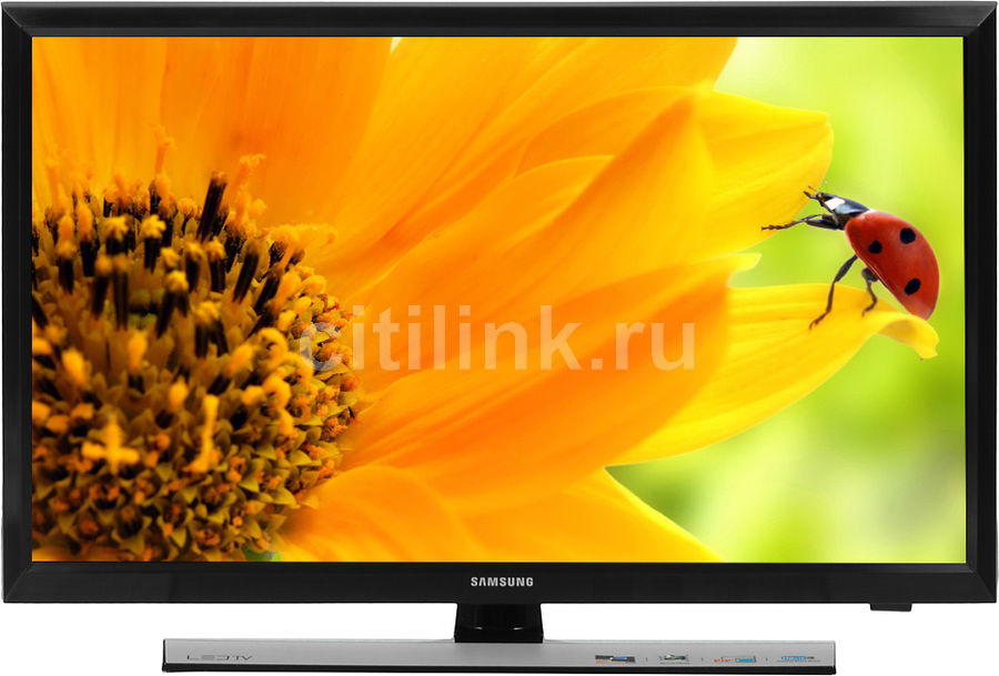 LED телевизор SAMSUNG T24E310EX R, 23.6, HD READY (720p), черный телевизор samsung 22 lt22c350exq led hd черный