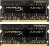 Модуль памяти KINGSTON HyperX Impact HX316LS9IBK2/16 DDR3L -  2x 8Гб 1600, SO-DIMM,  Ret вид 1