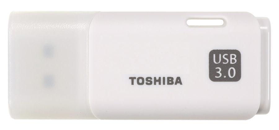 Флешка USB TOSHIBA Hayabusa U301 16Гб, USB3.0, белый [thn-u301w0160e4]