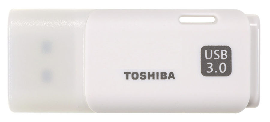Флешка USB TOSHIBA Hayabusa U301 64Гб, USB3.0, белый [thn-u301w0640e4]