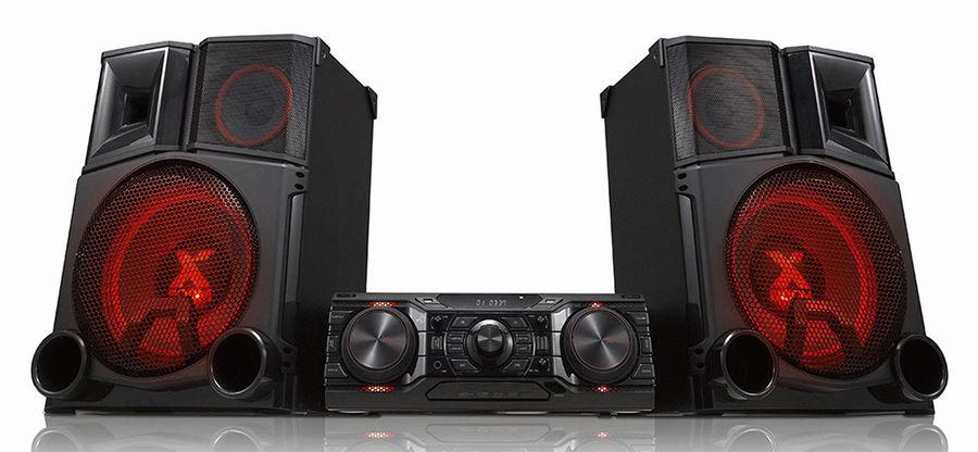 Музыкальный центр LG CM9750+NS9750,  черный