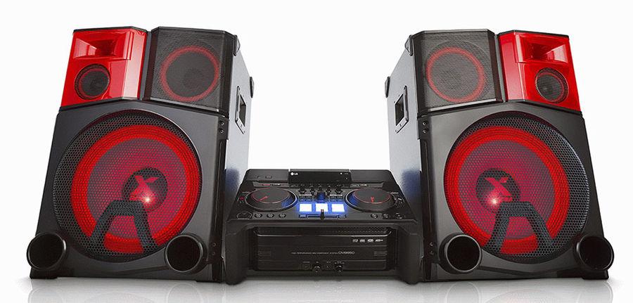 Музыкальный центр LG CM9950+NS9950,  черный