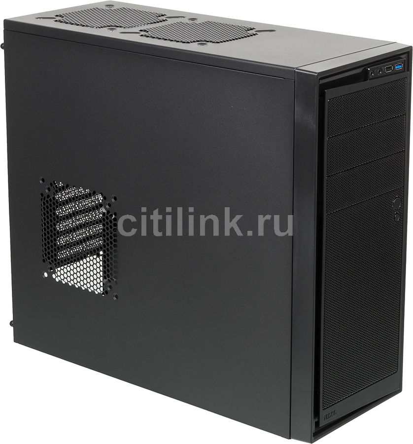 Корпус ATX NZXT Source 220, Midi-Tower, без БП,  черный