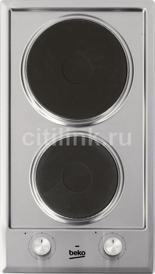 Варочная панель BEKO HDCE 32200 X,  независимая,  серебристый