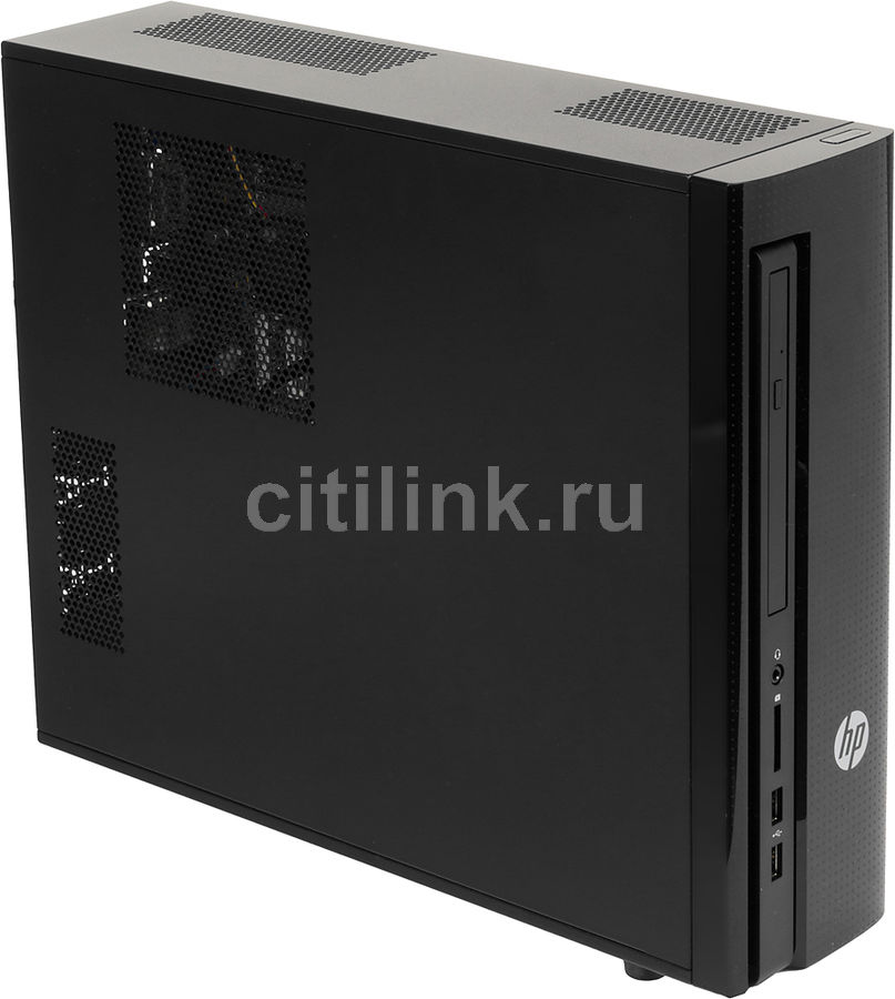 Компьютер  HP Slimline 450-a03ur,  AMD  A6  6310,  DDR3 4Гб, 1000Гб,  AMD HD Graphics R4,  DVD-RW,  CR,  Free DOS,  черный [m9l40ea]