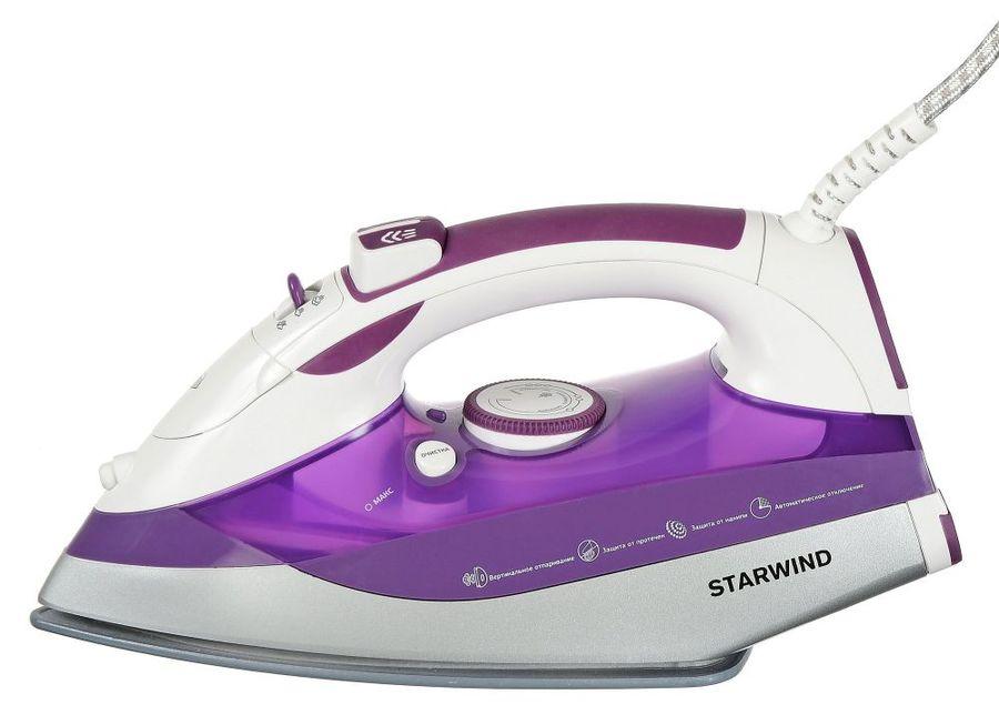 Утюг STARWIND SIR8917,  2500Вт,  фиолетовый