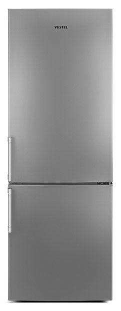 Холодильник VESTEL VCB 276 MS,  двухкамерный,  серебристый