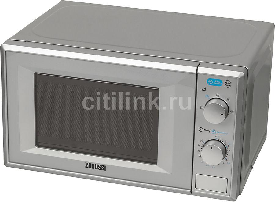 Микроволновая печь ZANUSSI ZFM20100SA, серебристый