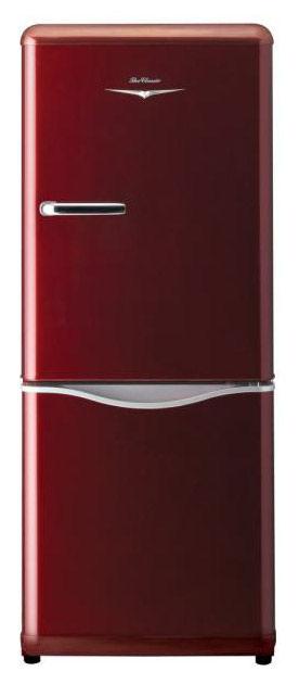 Холодильник DAEWOO RN-173NR,  двухкамерный,  красный