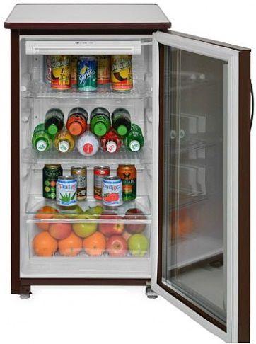 Холодильная витрина САРАТОВ 505-01 (КШ-120),  однокамерный, коричневый