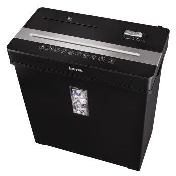 Уничтожитель бумаг HAMA Premium X8CD,  уровень 2,  P-3,  5х34 мм [00050188]