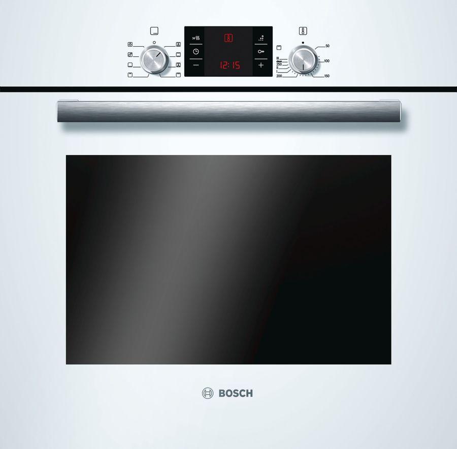 Духовой шкаф BOSCH HBG43T320R,  белый