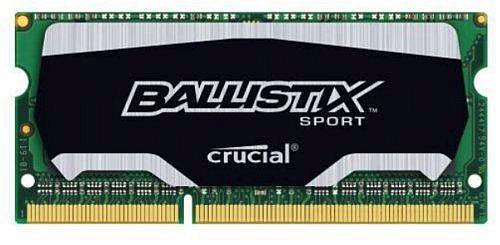 Модуль памяти CRUCIAL Ballistix Sport BLS8G3N169ES4CEU DDR3L -  8Гб 1600, SO-DIMM,  OEM